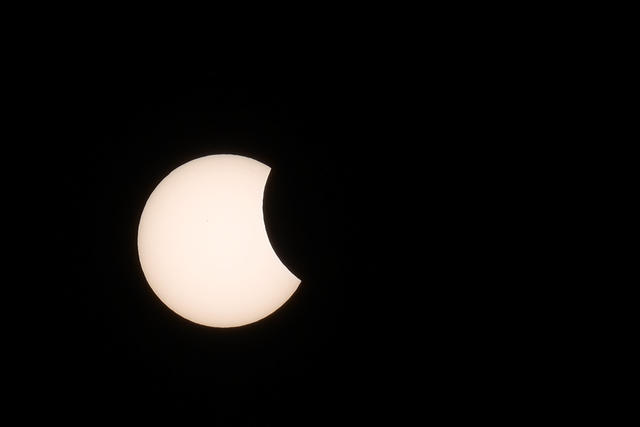 Eclipse from Manila, Philippines