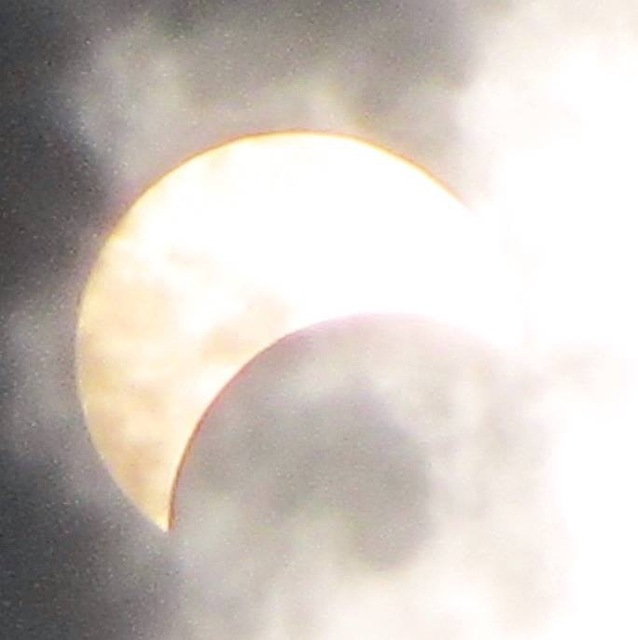 March 9 Partial Solar Eclipse - Vietnam