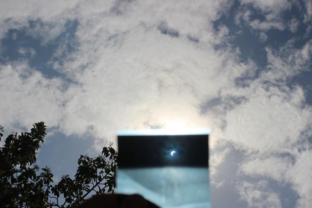 Solar Eclipse 2016 - Cebu Philippines,