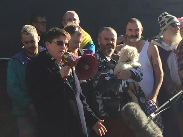Melbourne memorial for Orlando: Rowena Allen