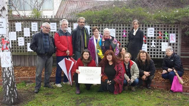 Loongana Park, #Nauru Files Protest