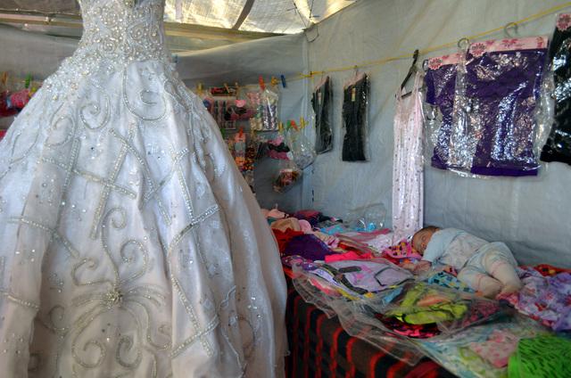 The Wedding & Beauty shop in Zaatari Refugee Camp