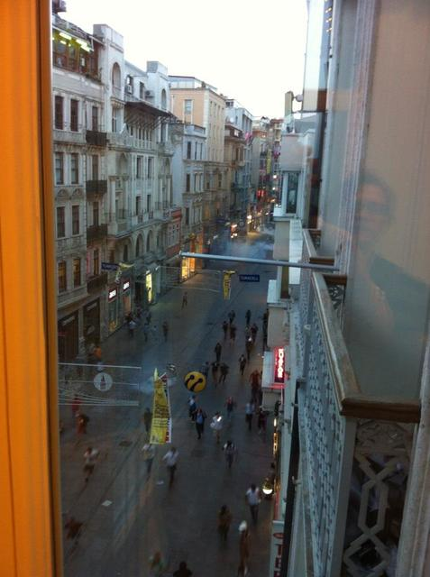 Gas fired down Istiklal