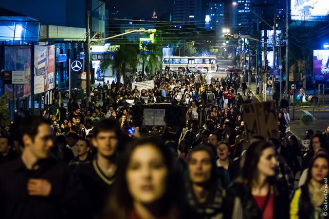 Protest in Novo Hamburgo