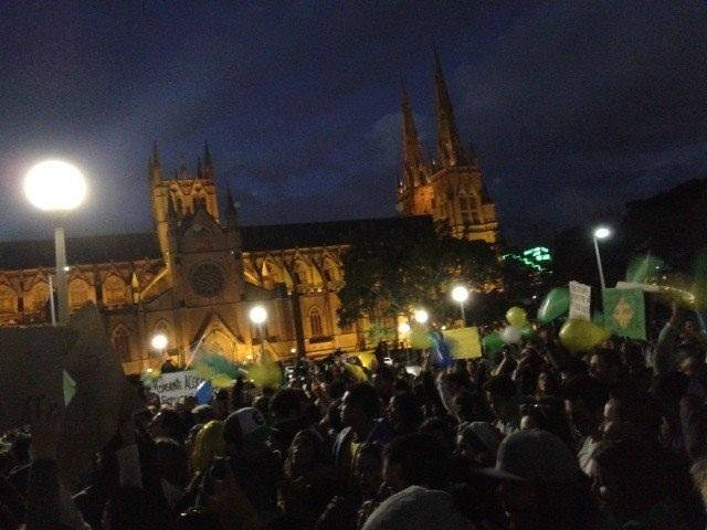 CHANGE BRAZIL, gathered in Sydney!
