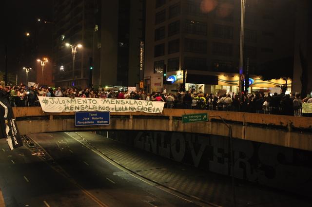 av. Paulista - Protesto Passe Livre
