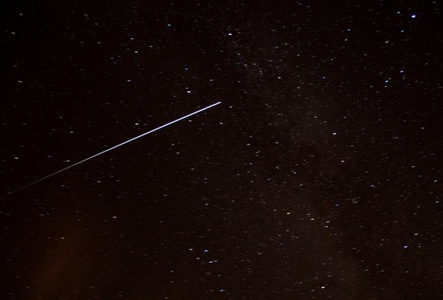 Perseid meteor in Malvern