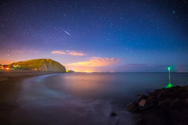 Meteor Above East Cliff