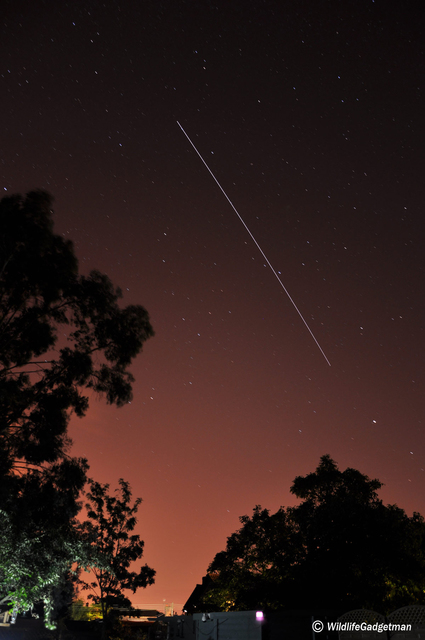ISS Pass Over Ipswich While Waiting For Perseid Meteors