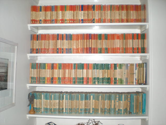 Penguin 1st editions bought in charity shops