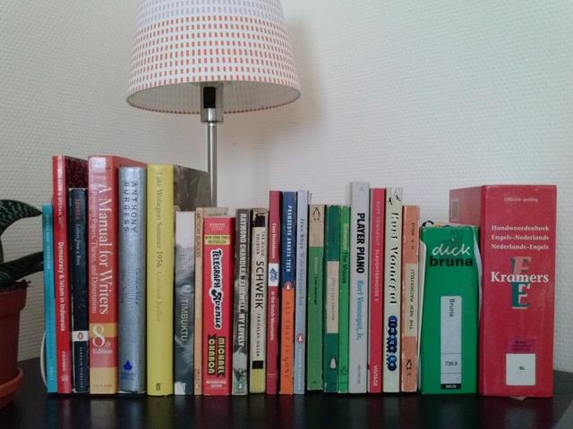 almost the complete bookshelf