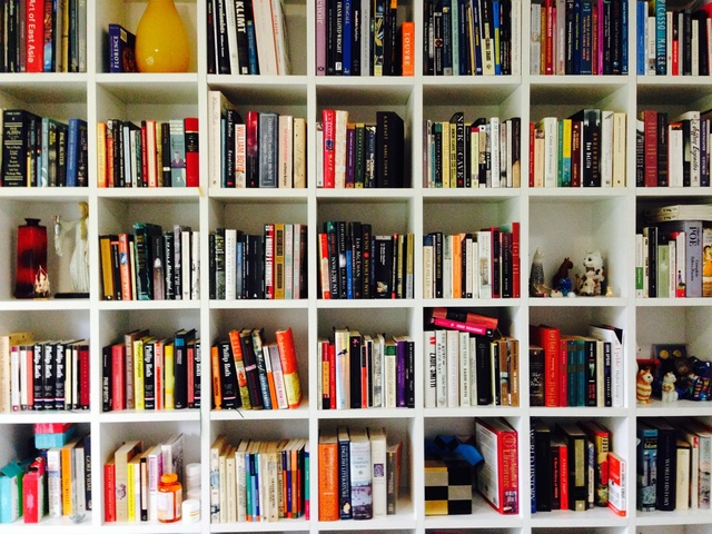 Books, cats and mugs