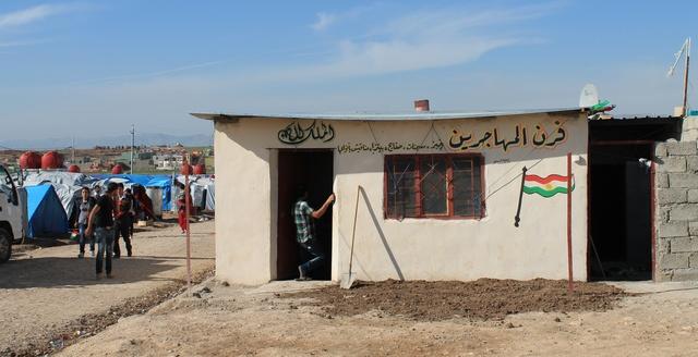 'Expat Bakery' now serving Domiz camp