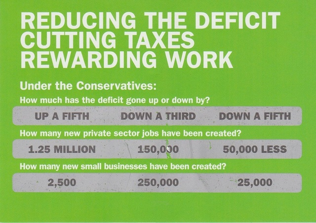 Conservative Scratch Card (Front)