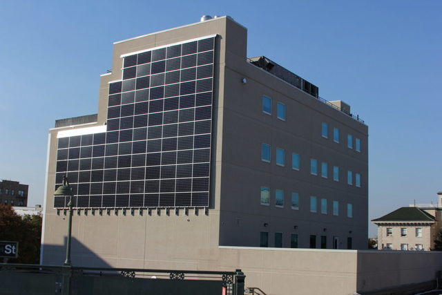 Quixotic Systems has provided Urban Health Plan a 37kW solar wall in the Bronx.