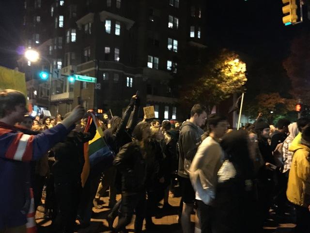 VCU Anti-Trump Protest