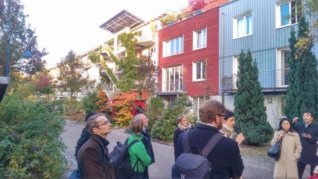Freiburg's Vauban neighbourhood: A sustainable district