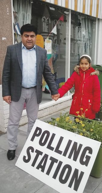 Double duty on polling day