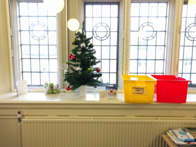 Christmas festivities in our office