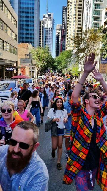 Brisbane Marriage Equality Rally