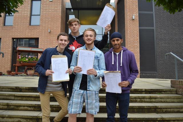Stourbridge School Celebrate GCSE Results