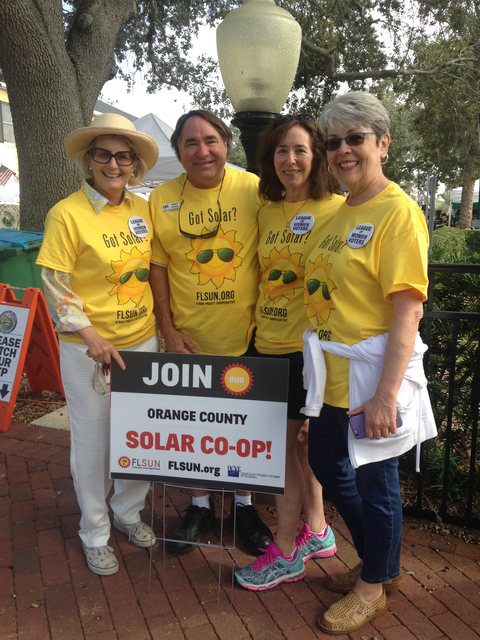 Launching Solar Co-ops throughout Florida