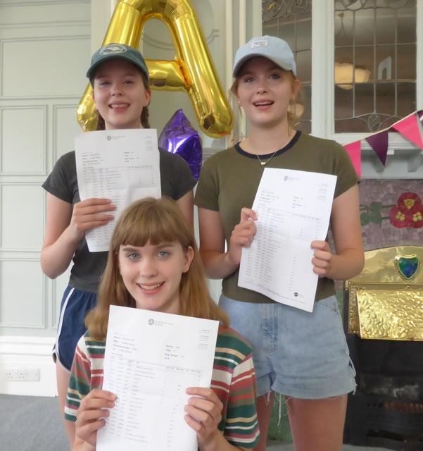 A* success for Sydenham High triplets