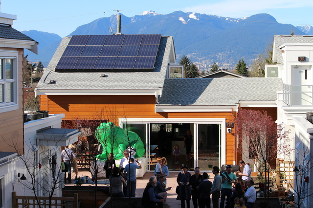 Solar co-housing in Vancouver, Canada