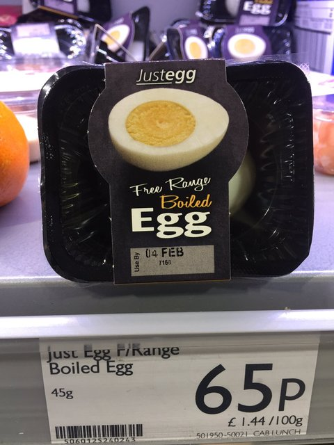 If only eggs had their own natural case...