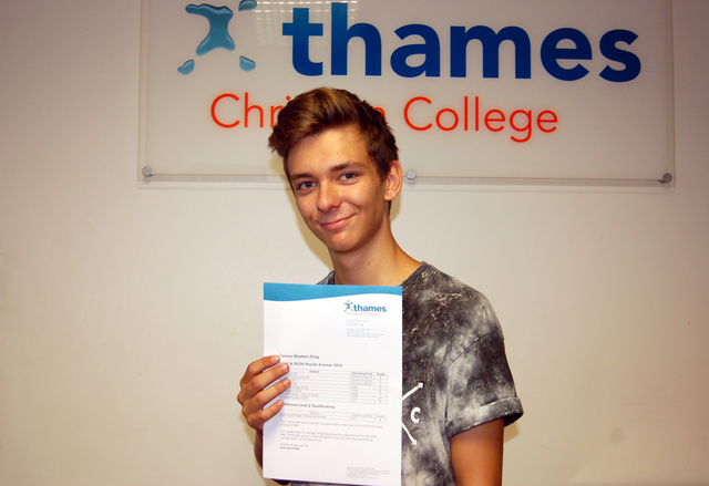 Tannus from Thames Christian College
